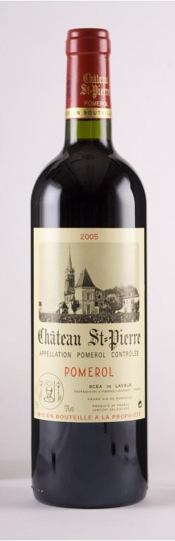 Pomerol Chateau Saint Pierre 2005