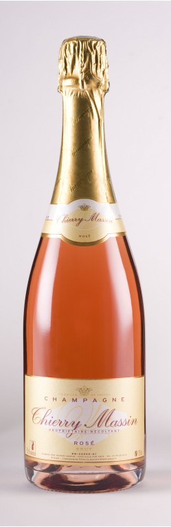 CHAMPAGNE ROSE THIERRY MASSIN
