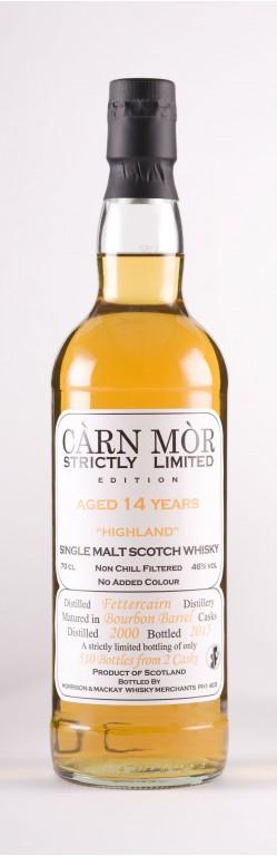 Fetter Cair Carn Mor whisky 2000 14 yo 46° 70 cl