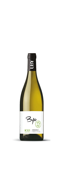 BYO  N° 21 Blanc SEC  dom Uby  vin Bio